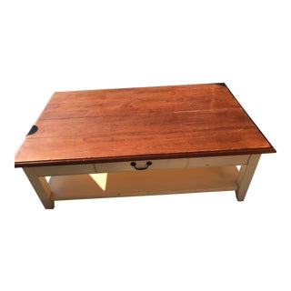 Ethan Allen French Country Style Coffee Table