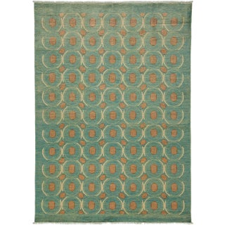 """Eclectic, Hand Knotted Area Rug - 5' 2"""" x 7' 1"""""""