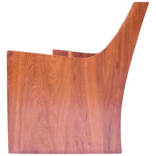 Early Jere Osgood Signed Custom Black Walnut Sofa, 1969