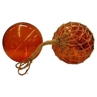 Large Glass Fishing Floats
