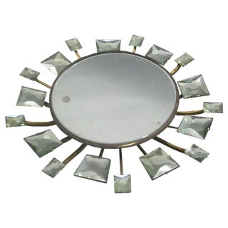 Important Italian Mirror by Max Ingrand for Fontana Arte