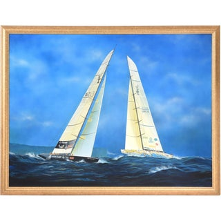 Gabriel Duarte Nautical Acrylic Painting