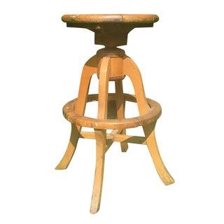 Wooden Artist's Stool