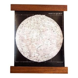 Antique Black & White Moon Chart