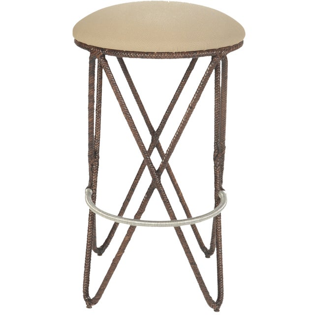 David Francis Proton Bar Stools - Set of 3 - Image 5 of 5