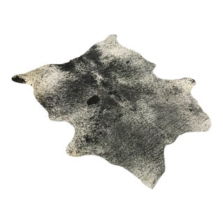 Black & White Speckled Cowhide Rug