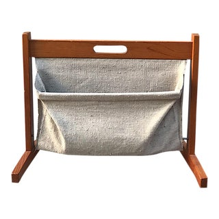 Furbo Danish Teak Magazine Rack