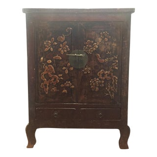 Antique Chinese Chinoiserie Cabinet