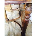 Image of Antique Oak Hall Desk