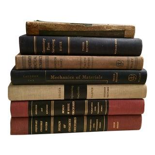 Vintage Engineering Textbooks - Set of 7