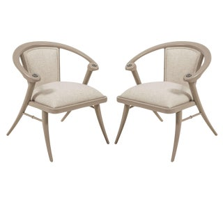 Pair of Lacquered Chairs