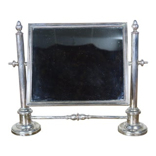 19th C. English Sheffield Vanity Mirror