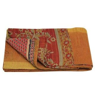 Vintage Sol Kantha Throw