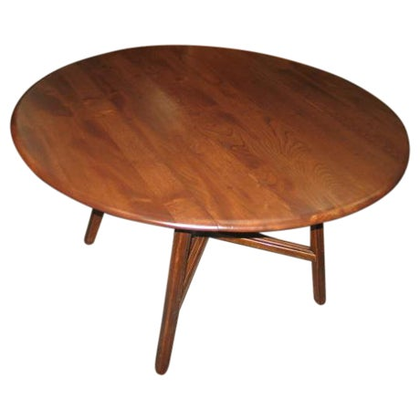 Image of Circa 1940s Ercol Drop-Leaf Table