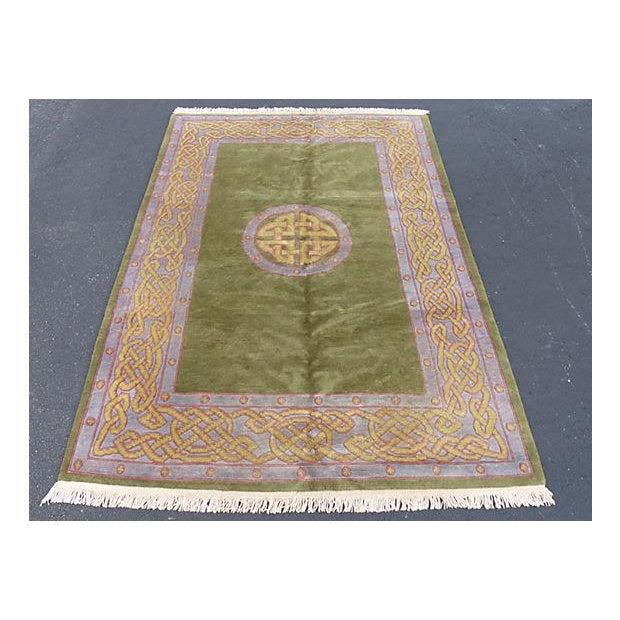 Nepalese Wool Rug- 6' x 9' - Image 9 of 11