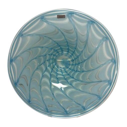 Waterford Evolution Aqua Art Glass Bowl - Image 1 of 8