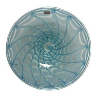 Waterford Evolution Aqua Art Glass Bowl