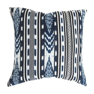 Indigo Maiz Guatemalan Pillow