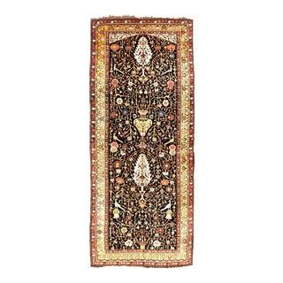 "Antique Persian Bakhtiari Gallery Rug - 5'10""x 14'"