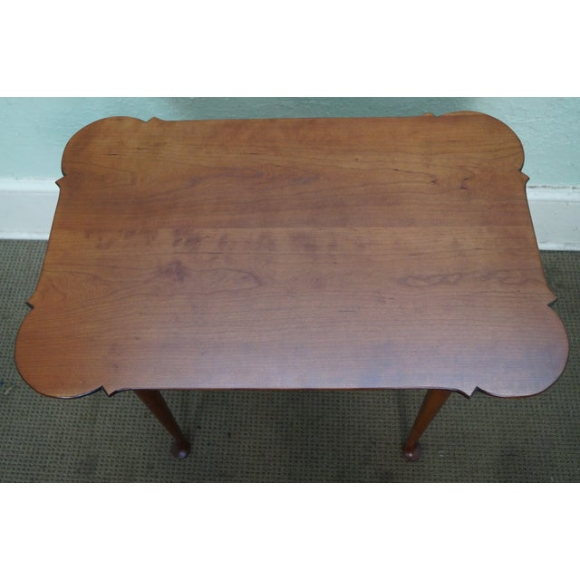 Eldred wheeler 18th c style side table chairish for Table th width ignored