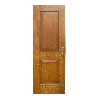 Oak Two Panel Door