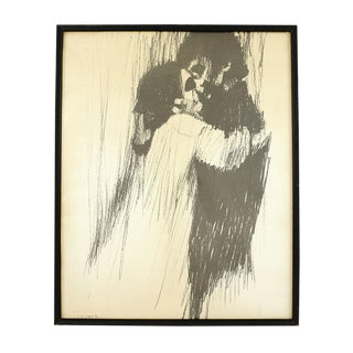 'Young Lovers' Framed Print