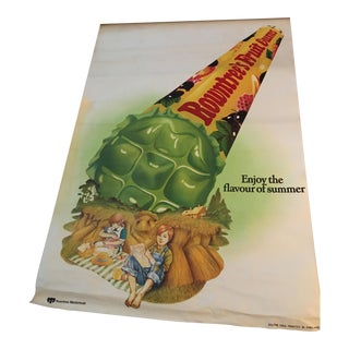 English Rowntree's Fruit Gums Poster