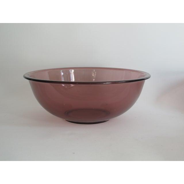 Purple Nesting Pyrex Bowls, Set of 4 - Image 4 of 7