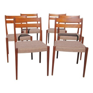 Circa 1960 Svegards Markaryd Danish Modern Teak Dining Chairs - Set of 6