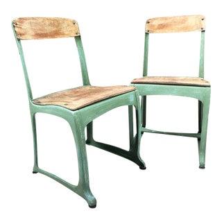 1950s Envoy School Chairs- A Pair