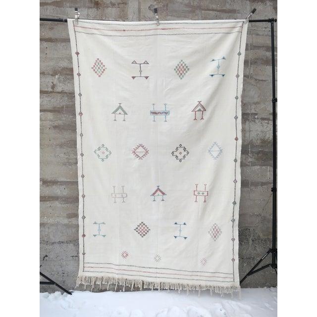 Moroccan Sabra Silk Rug - 5' x 9' - Image 2 of 4