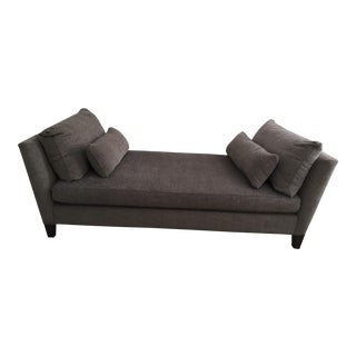 Crate and Barrel Marlowe Rich Grey Daybed