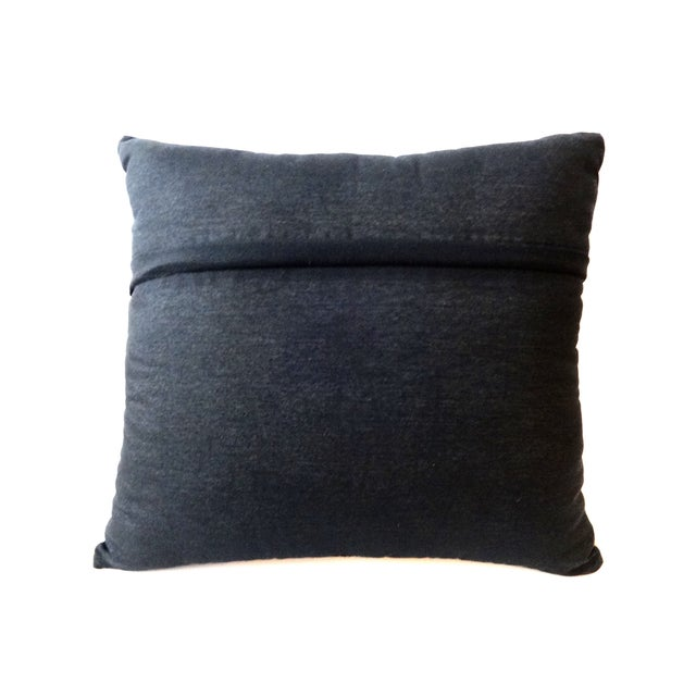 African Mud Cloth Pillow - Image 6 of 8