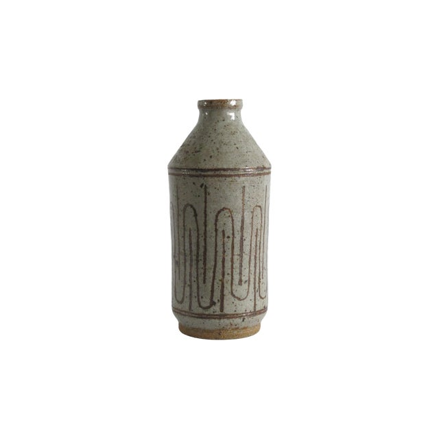 Mid-century Danish Ceramic Bottle - Image 1 of 5