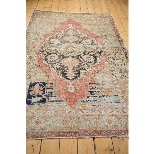 Vintage Oushak Carpet - 4′10″ × 8′2″ - Image 7 of 10
