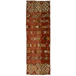 Image of Vintage Turkish Kilim Runner - 2'8 X 8'4