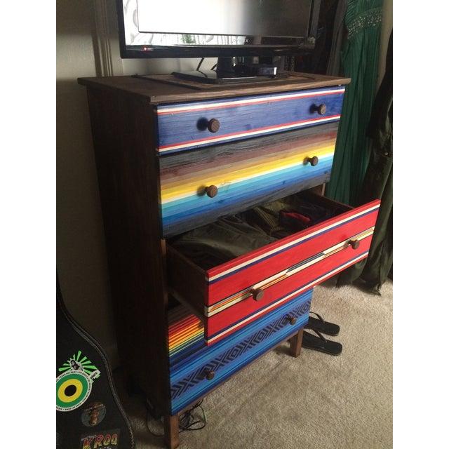 Mexican Blanket Dresser - Image 3 of 4