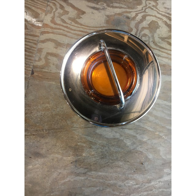 Machine Age Industrial Chrome Smoking Stand - Image 3 of 10