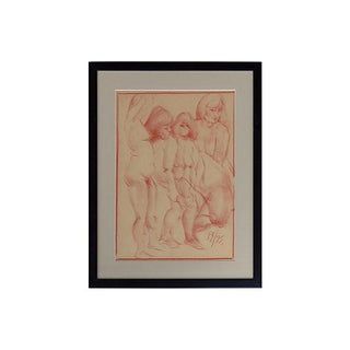 Paul Silverthorne Nude Figure Drawing