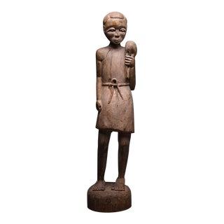 Bambara Wooden Sculpture of Christ