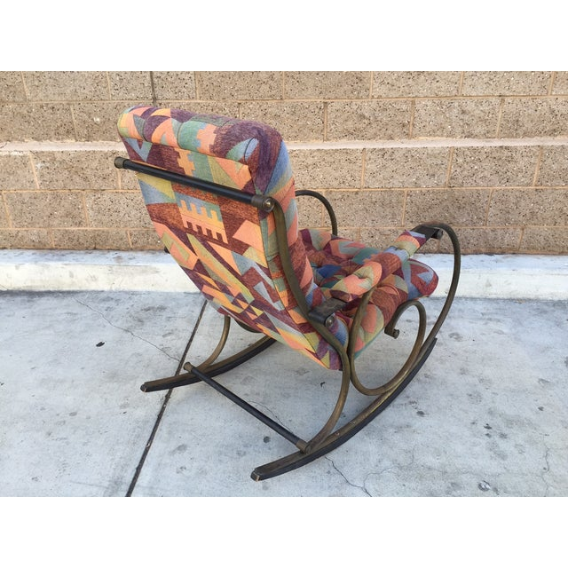 Lee Woodward Rocking Chair - Image 5 of 5
