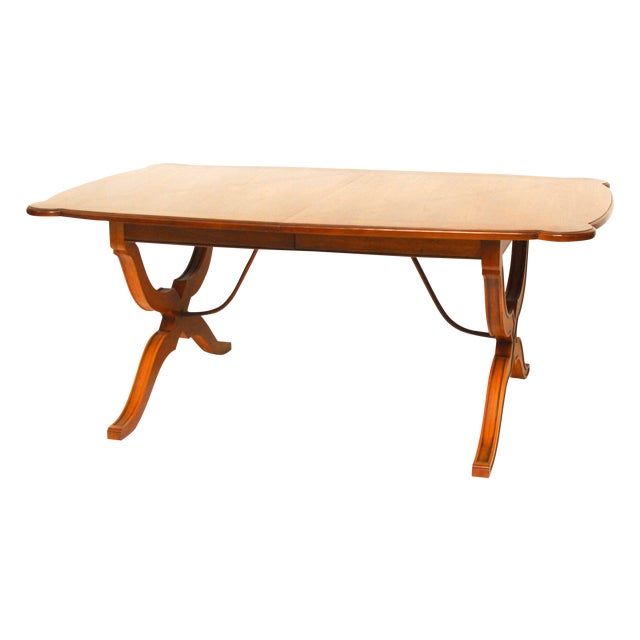 Spanish Trestle Dining Table - Image 1 of 6