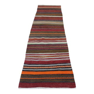 Oriental Turkish Kilim - 2′4″ × 8′10″