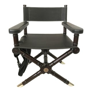 Ralph Lauren Home Canyon Director's Chair with Saddlebag