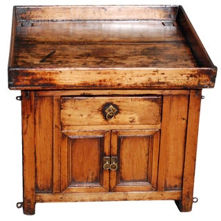 Chinese Peddler's Box Tray Table