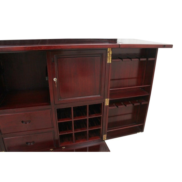 Rosewood Bar and Cabinet - Image 5 of 6