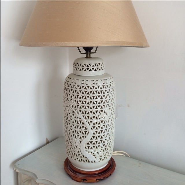 Blanc De Chine Lamp Cherry Blossom Lamp - Image 6 of 8