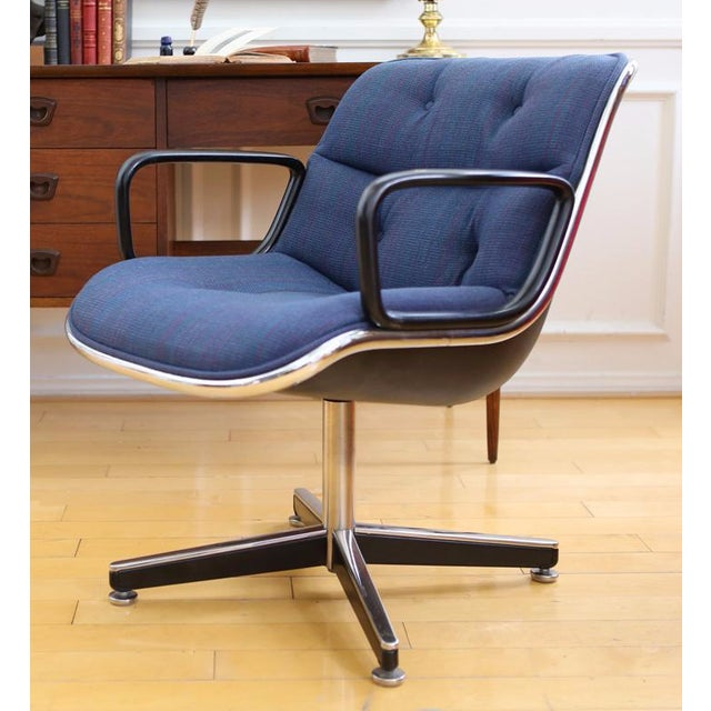 Mid-Century Modern Knoll International Desk Chair - Image 2 of 9