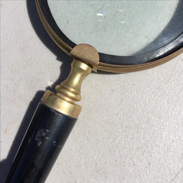 Black Horn Magnifying Glass - Image 3 of 4