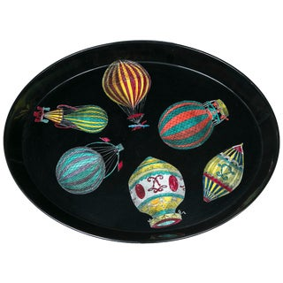Piero Fornasetti Hot Air Balloon Tray